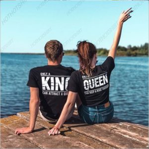 Couple King And Queen Matching Shirts