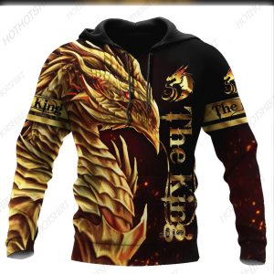 Dragon King 3D All Over Printed Unisex Shirts
