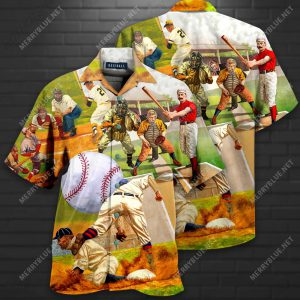 Playing Baseball Short Sleeve Shirt