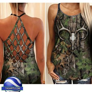 Hunting girl camisole tank top and legging 2