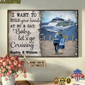 Personalized Name Cruising Harbor Baby Let's Go Customized Poster 3