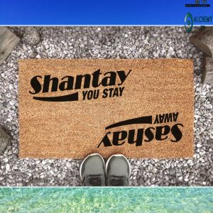 RuPaul's Drag Race Sashay Away Shantay You Stay Doormat