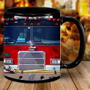 Wee Woo Truck Firefighter Home Is Where You Park It Mug