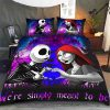 Jack skellington and Sally were simply meant to be bedding set