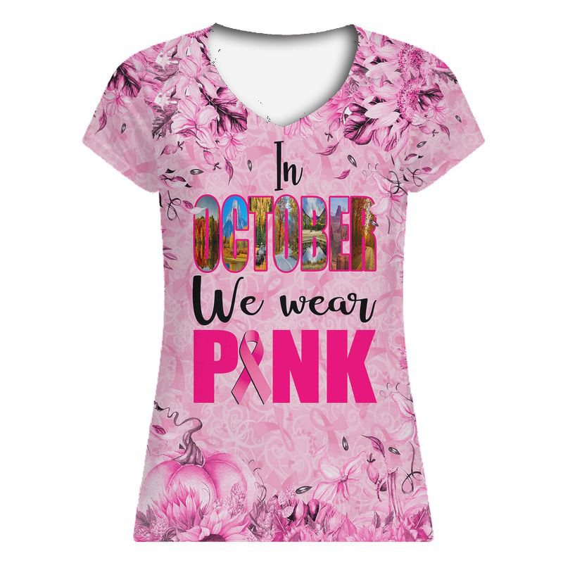 In October We Wear Pink Nature Art Edition 3D Shirt