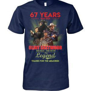 67 years 1954 2021 Clint Eastwood The man the myth the legend