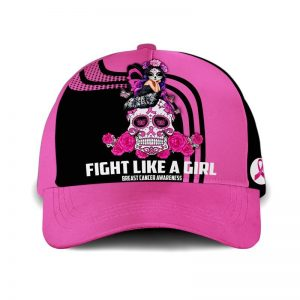 Breast Cancer Awareness Fight Like A Girl Hat Cap